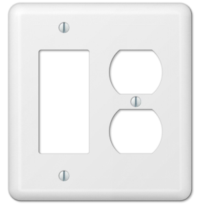 Basic light switch and outlet cover