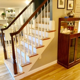 How to Update Your Banisters with Gel Stain