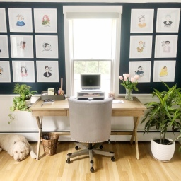 Before & After: Home Office Update