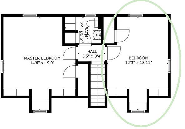 Location & size of nursery